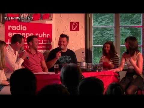 3.Ennepetal Vanessa Krasniqi RTL Stars DSDS zu Gast am Talk am Gleis Radio Ennepe Ruhr
