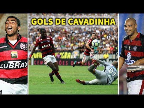 Gols de Cavadinha na História do Flamengo | Vinicius Júnior, Lucas Paquetá, Maestro Júnior, Adriano