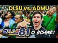 Foreigner's First Time at UAAP! DLSU vs. ADMU is INSANE!