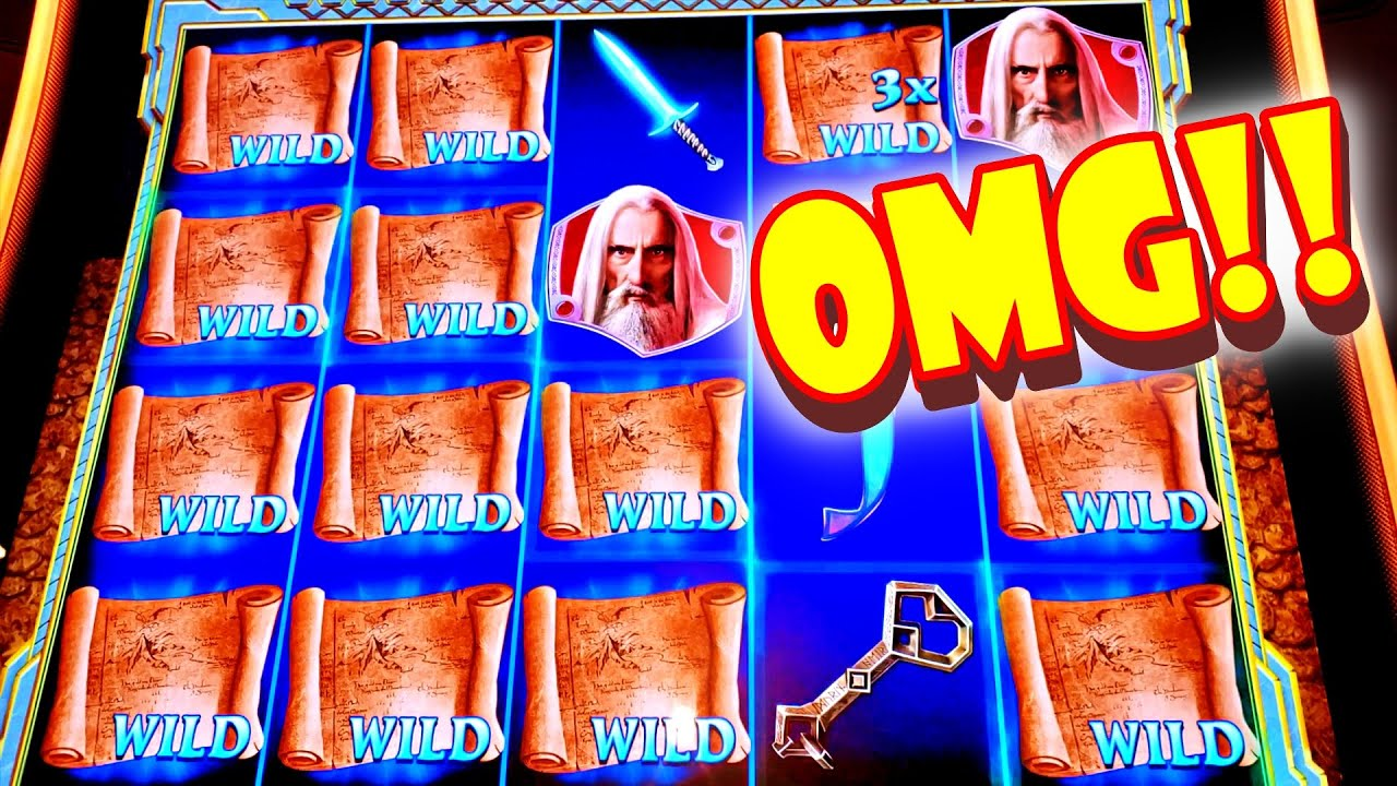 FIRST SPIN NO BONUS!! * WE GOT THE EGG!! * MOM BETS BIG!! - Las Vegas Casino Hobbit Slot Machine Win