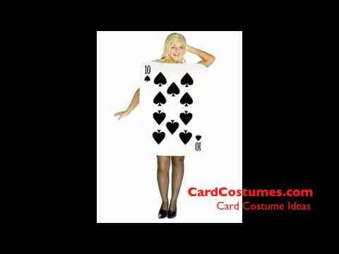Card Costume Ideas  sc 1 st  YouTube & Card Costume Ideas - YouTube