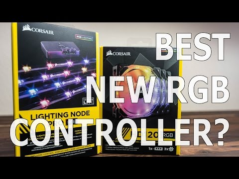 Corsair Lighting Node Pro Review - Unboxing and First Look