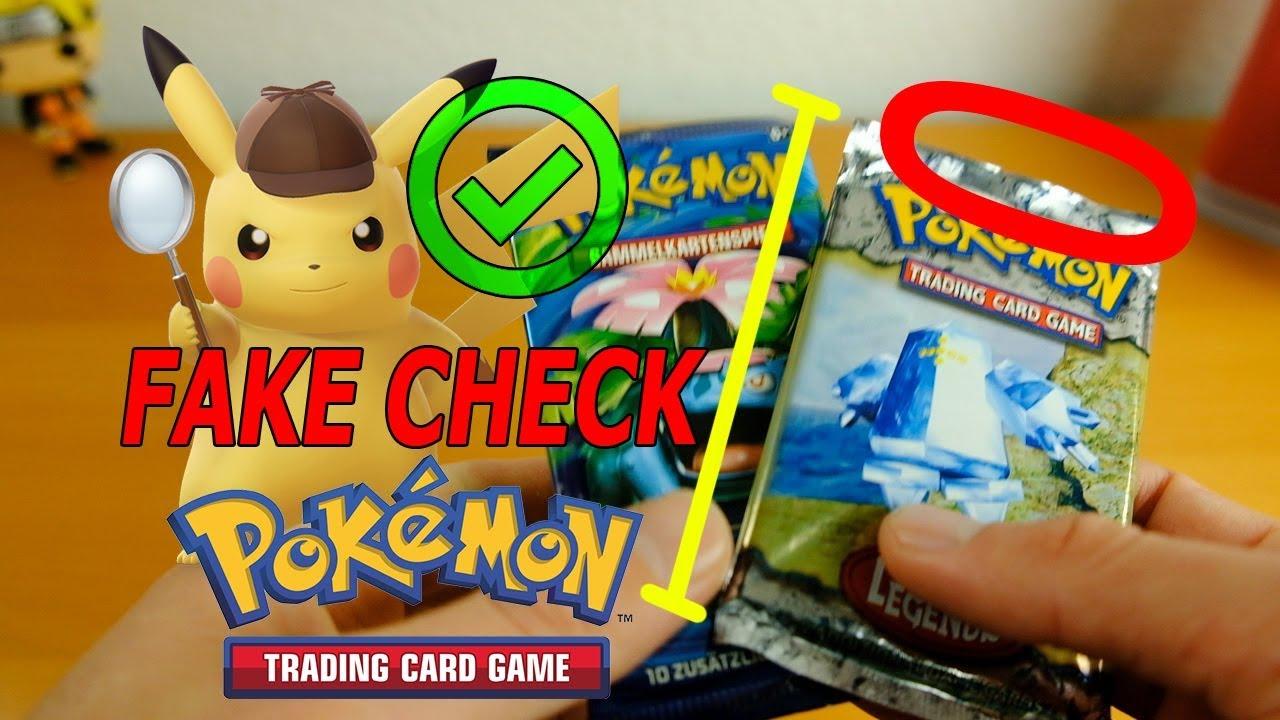Gefälschte Pokemon Karten