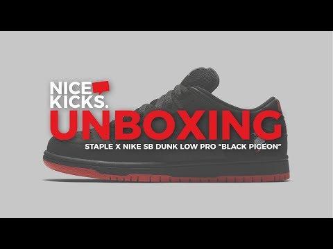 "UNBOXING the Staple x Nike SB Dunk Low Pro ""Black Pigeon"" Mp3"