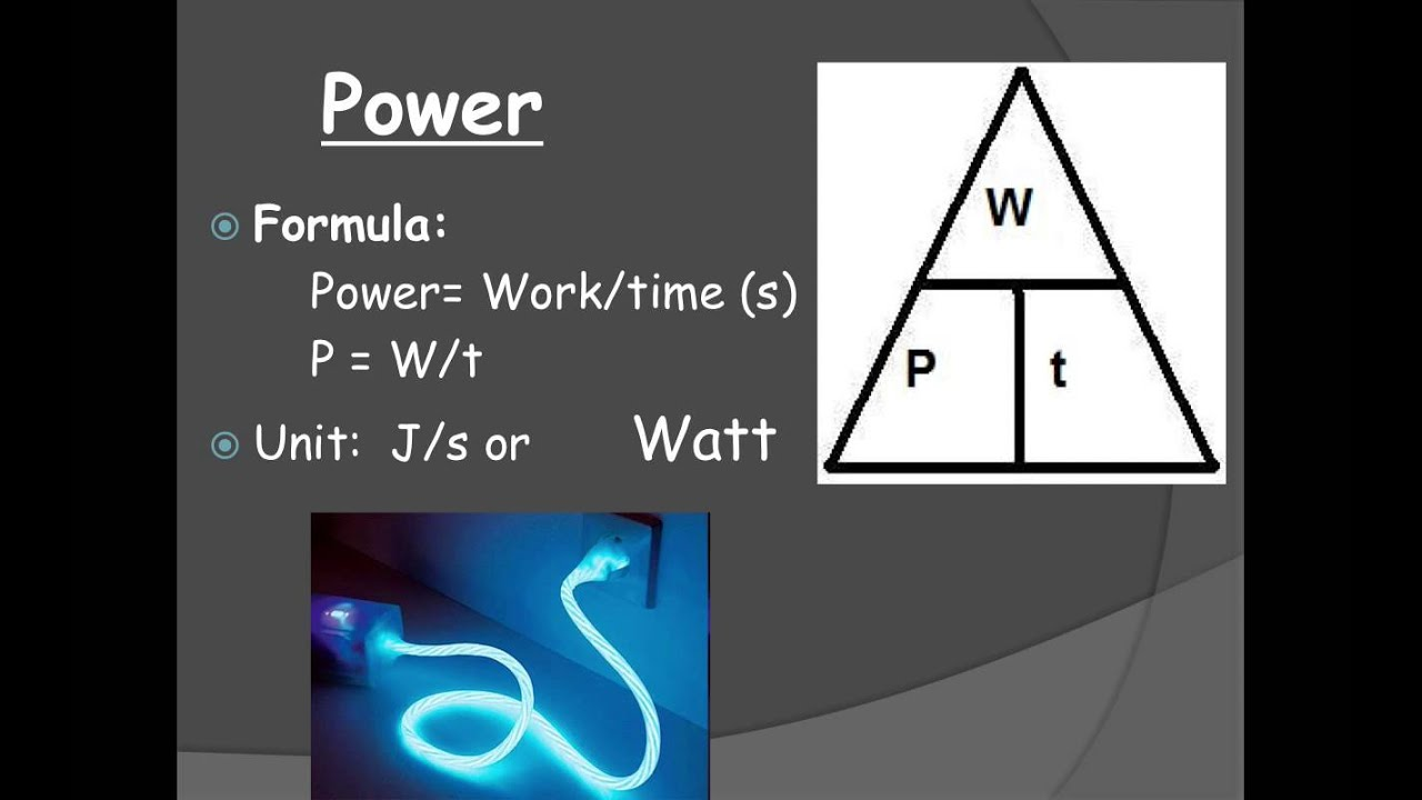 Power To Energy : Work power energy ppt youtube