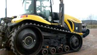 Caterpillar Challenger for auction on Copart York on the 8/3/2012