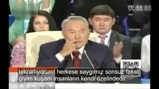 Kazak Lider biz Türküz Arap değil