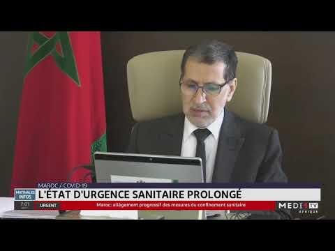 Conseil de gouvernement : L'état d'urgence sanitaire prolong