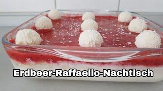 Erdbeer-Raffaello-Nachtisch Monsieur Cuisine Connect Thermomix