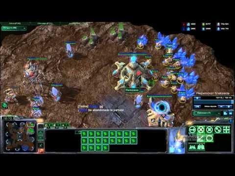 """Starcraft 2 : Guía de """"reads"""" y """"counters"""" - colosos 1 base - Ep 9"""
