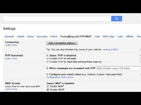 How To Enable Gmail IMAP Settings