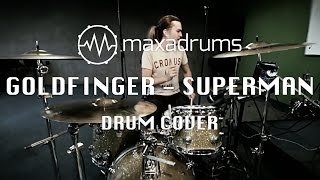 GOLDFINGER - SUPERMAN (Drum Cover)
