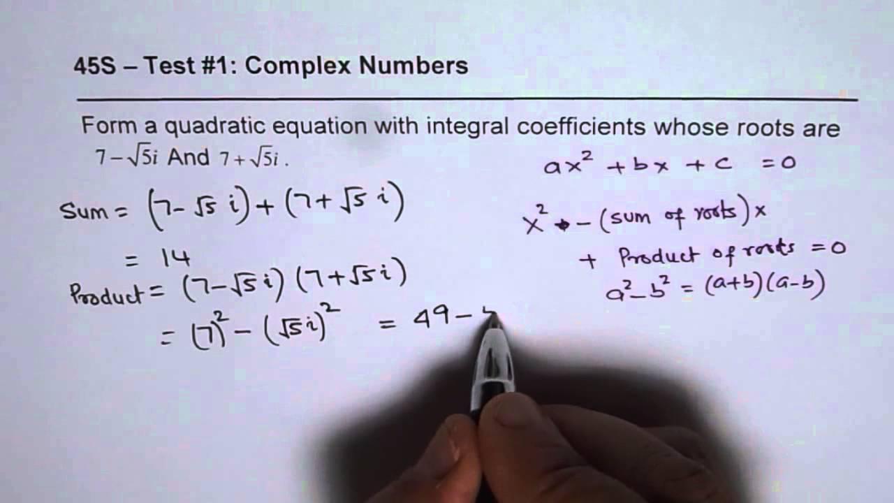 Quadratic Formula Calculator & Solver