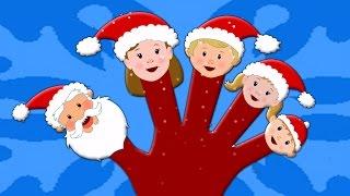 Santa dedo família Noel | Canção natal | canção dedo família | Kids Song | Santa Claus Finger Family