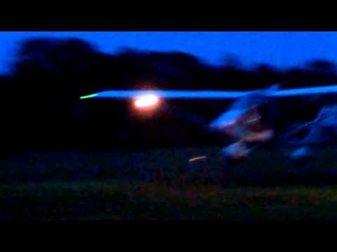 CGS Hawk Arrow II doing night ops.