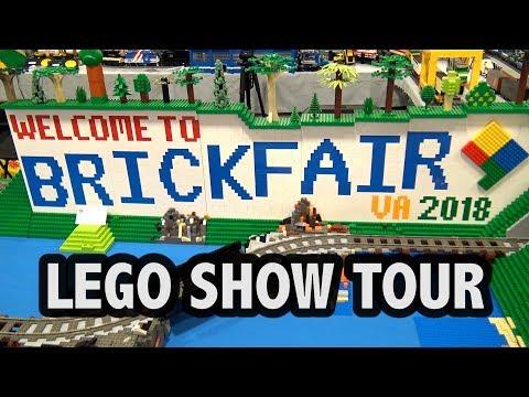 BrickFair Virginia 2018 LEGO Convention Tour