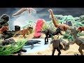 DIY Volcano Eruption Jurassic World 2 Fallen Kingdom Island~ Dinosaurs Jungle Toys For Kids