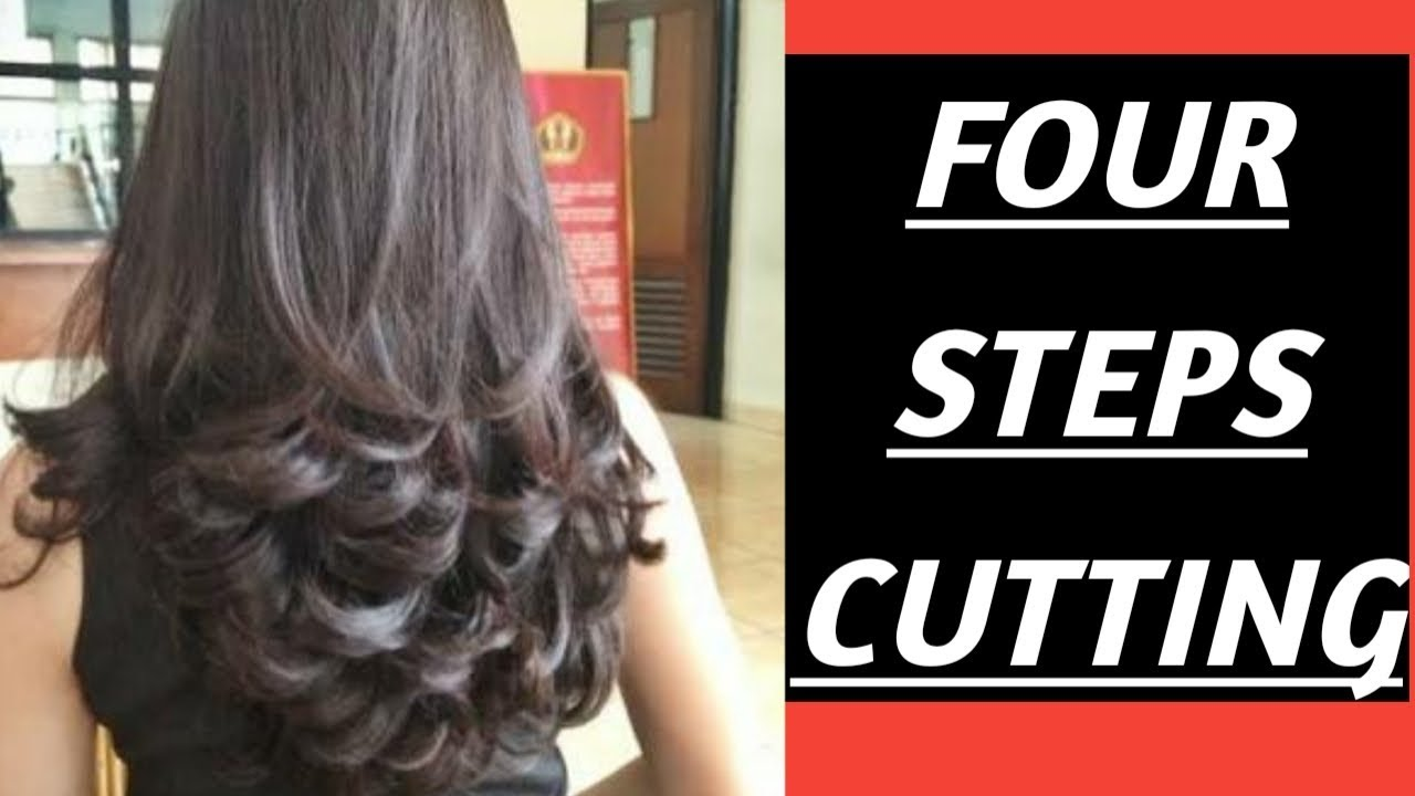 Four Steps Cutting Curly Looks By Steps Cutting
