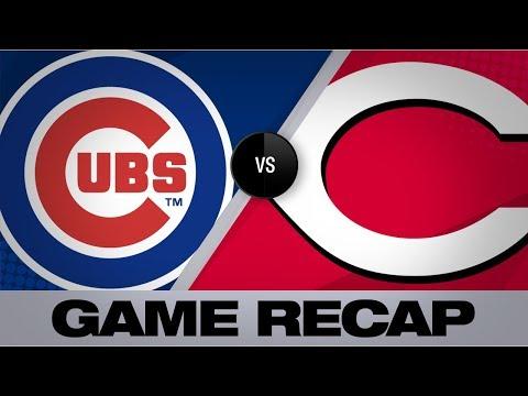 Aquino's 3 HRs lift Reds past Cubs | Cubs-Reds Game Highlights 8/10/19