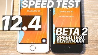 iOS 12.4 BETA 2 vs. iOS 12.3 SPEED Test + BENCHMARK! SPEED Improvements? Which is Faster?
