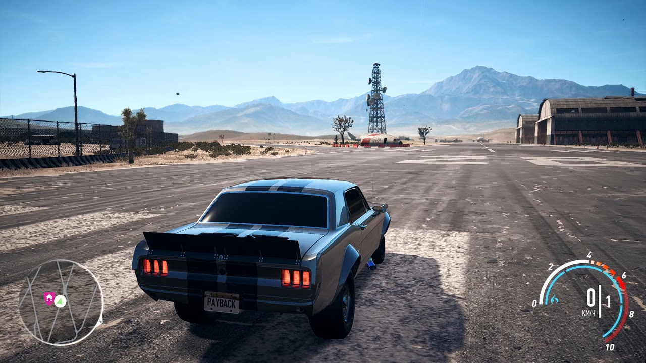 Need for speed payback ford mustang derelict drag super build