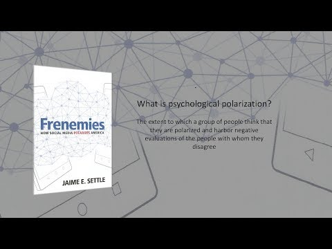 Frenemies: Social media and polarization
