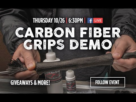 Shape and Build Your Own Custom Carbon Fiber Grips