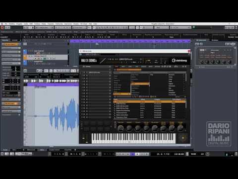 Cubase 9 Vari Audio estrarre note midi da un file di voce e sax