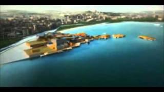 BAKU AZERBAIJAN ECO CULTURAL MASTER PLAN by Asymptote Architecture   - YouTube2.flv