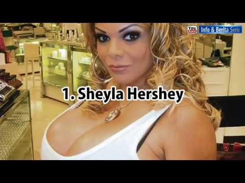 daftar wanita cantik dengan payudara paling besar di dunia