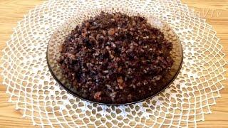 кровяная колбаса с рисом без оболочки в домашних условиях
