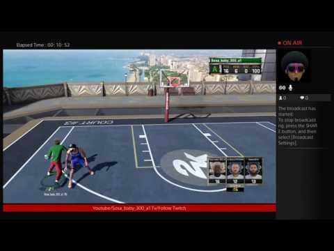 NBA 2k16 - Mypark 21!!!