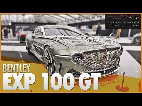 🚗 BENTLEY EXP 100 GT | Une calandre avec 6000 LEDS ✨