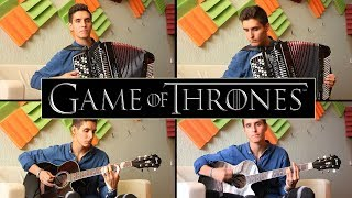 Game of Thrones - Soundtrack   FOLK COVER VERSION   Guitar + Accordion