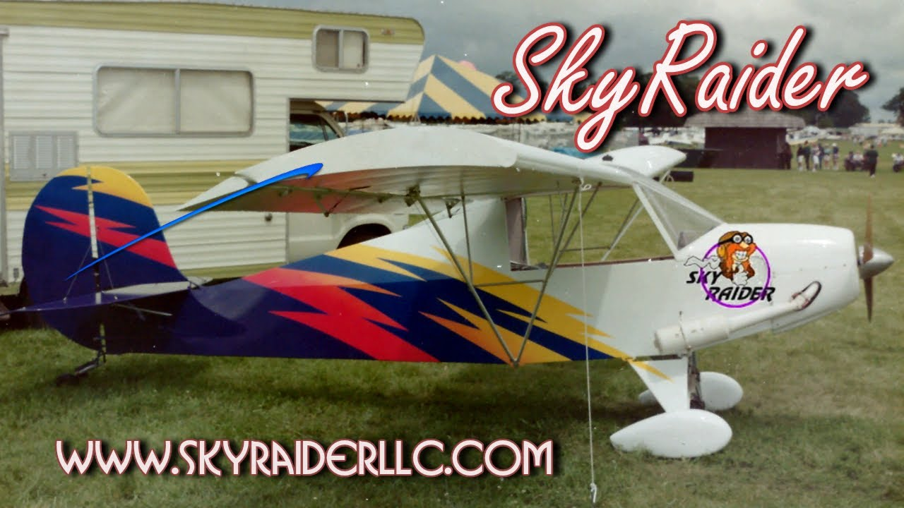 Lovely Sky Raider Experimental Amateurbuilt Light Sport Aircraft Kits.   YouTube Amazing Design