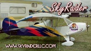 Sky Raider experimental amateurbuilt light sport aircraft kits.