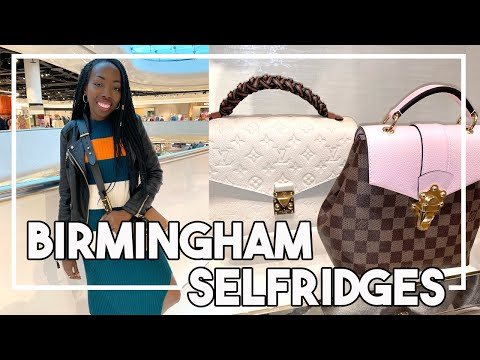 Come To BIRMINGHAM With Me! Luxury Shopping At Selfridges! | Louis Vuitton, Gucci, Balenciaga Etc