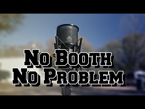 How to get a Pro Vocal Recording Without a Vocal Booth