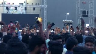 Covai gethu#hiphop tamizha..#1000000Students Crowd going Crazy#Prozone..#Police Lathi Charge
