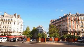 パリの街並み 11区 Voltaire駅 (No.91)