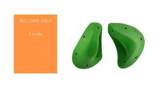 Video: BILLOWS XXLA - Super comfy, ergonomic and positive jugs