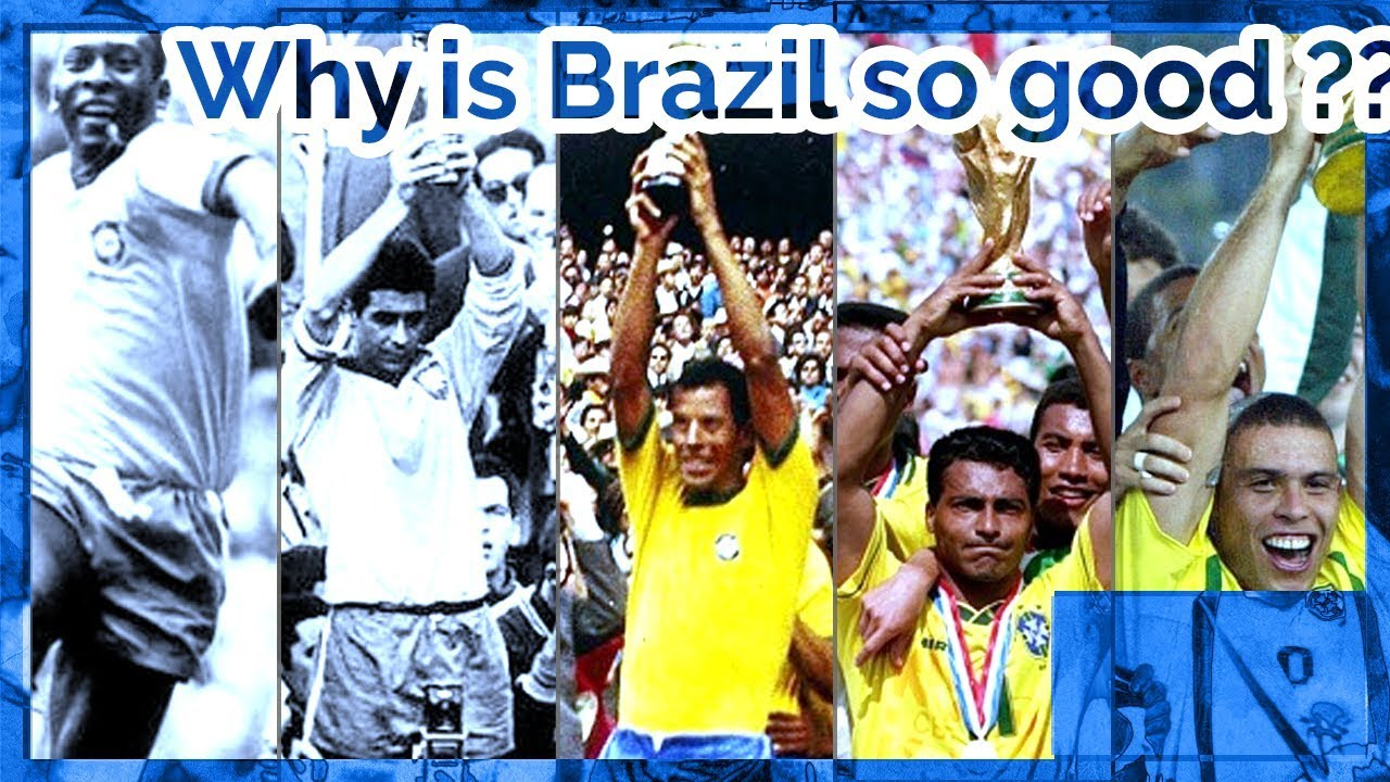 Kunci Kehebatan Brazil Dalam Bola Sepak