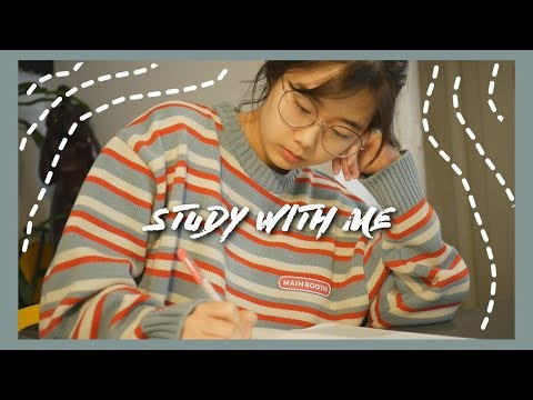 Study With Me in Cafe VLOG : Korean High School Student