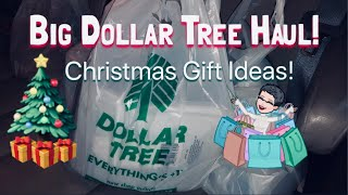 Big Dollar Tree Haul! | Christmas Gift Ideas 🎄 | Stocking Stuffers | Gift Wrapping 🎁