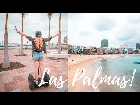 ONE DAY IN LAS PALMAS | GRAN CANARIA  2018 TRAVEL DIARY