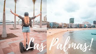 ONE DAY IN LAS PALMAS | GRAN CANARIA  2018 TRAVEL DIARY