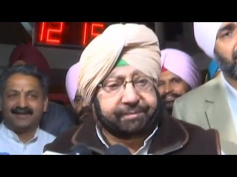They should have worn black cloaks: Amarinder Singh on BJP, SAD walkout from Punjab assembly