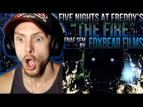 """Vapor Reacts #913   [FNAF SFM] FIVE NIGHTS AT FREDDY'S """"The Fire"""" By Foxbear Films REACTION!!"""