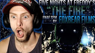"Vapor Reacts #913 | [FNAF SFM] FIVE NIGHTS AT FREDDY'S ""The Fire"" by Foxbear Films REACTION!!"
