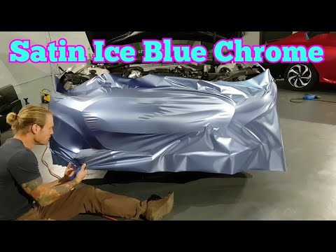 How to vinyl wrap a bumper. How to wrap a car. By @ckwraps
